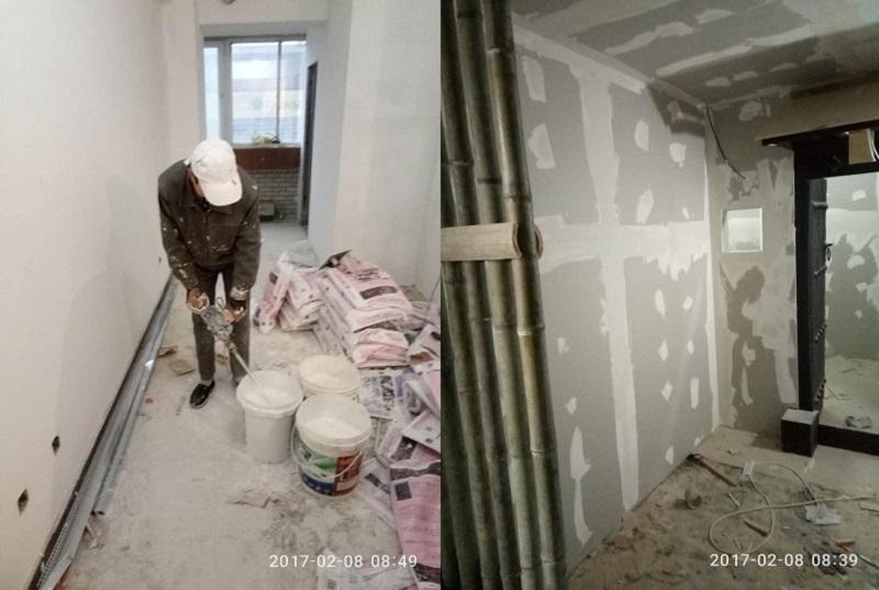 西安密室逃脱装修墙面粉刷 西安密室逃脱装修墙面粉刷 施工案例 alt/title第1张