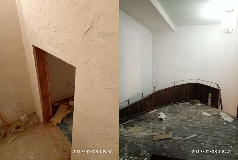 西安密室逃脱装修墙面粉刷 西安密室逃脱装修墙面粉刷 施工案例 alt/title第2张