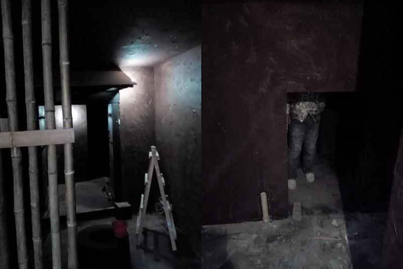 西安密室逃脱装修墙面粉刷 西安密室逃脱装修墙面粉刷 施工案例 alt/title第4张